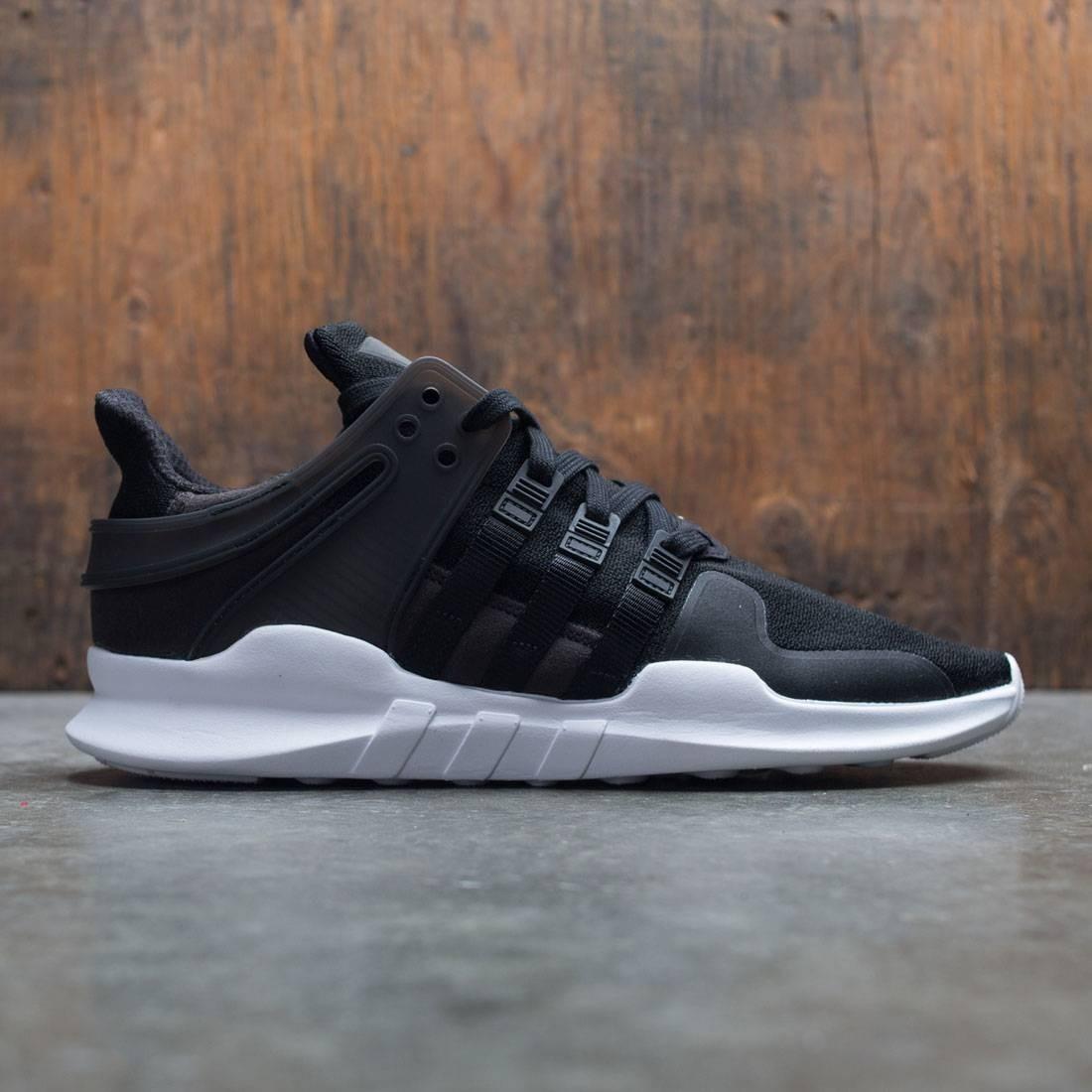 【海外限定】アディダス コア 黒 ブラック 靴 スニーカー 【 ADIDAS BLACK MEN EQT SUPPORT ADV CORE FOOTWEAR WHITE 】