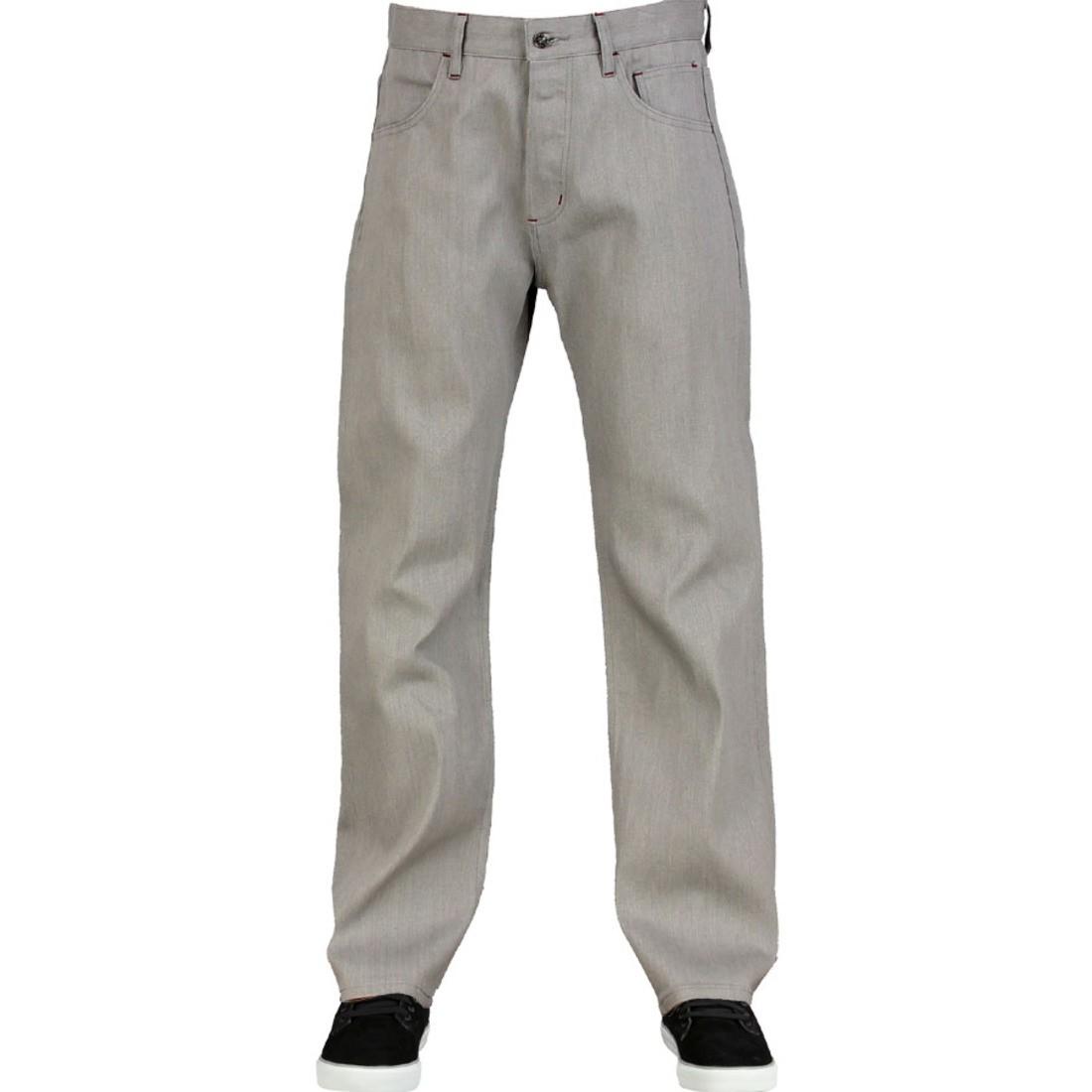 スタンダード メンズファッション ズボン パンツ メンズ 【 The Hundreds Cherokee Standard Jean (grey) 】 Grey