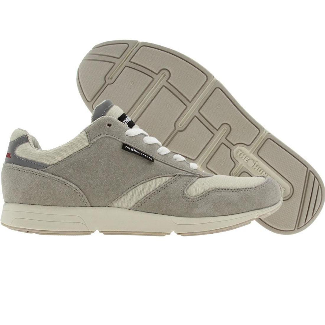【海外限定】スエード スウェード スニーカー メンズ靴 【 THE HUNDREDS SCULLY SUEDE GREY 】