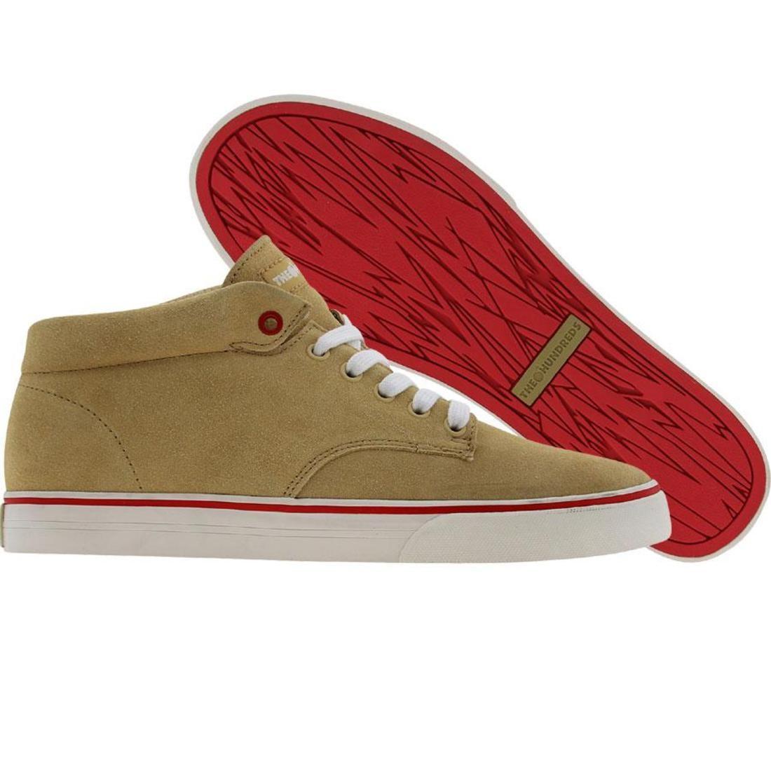 【海外限定】ジョンソン ミッド 靴 メンズ靴 【 THE HUNDREDS JOHNSON MID KHAKI 】