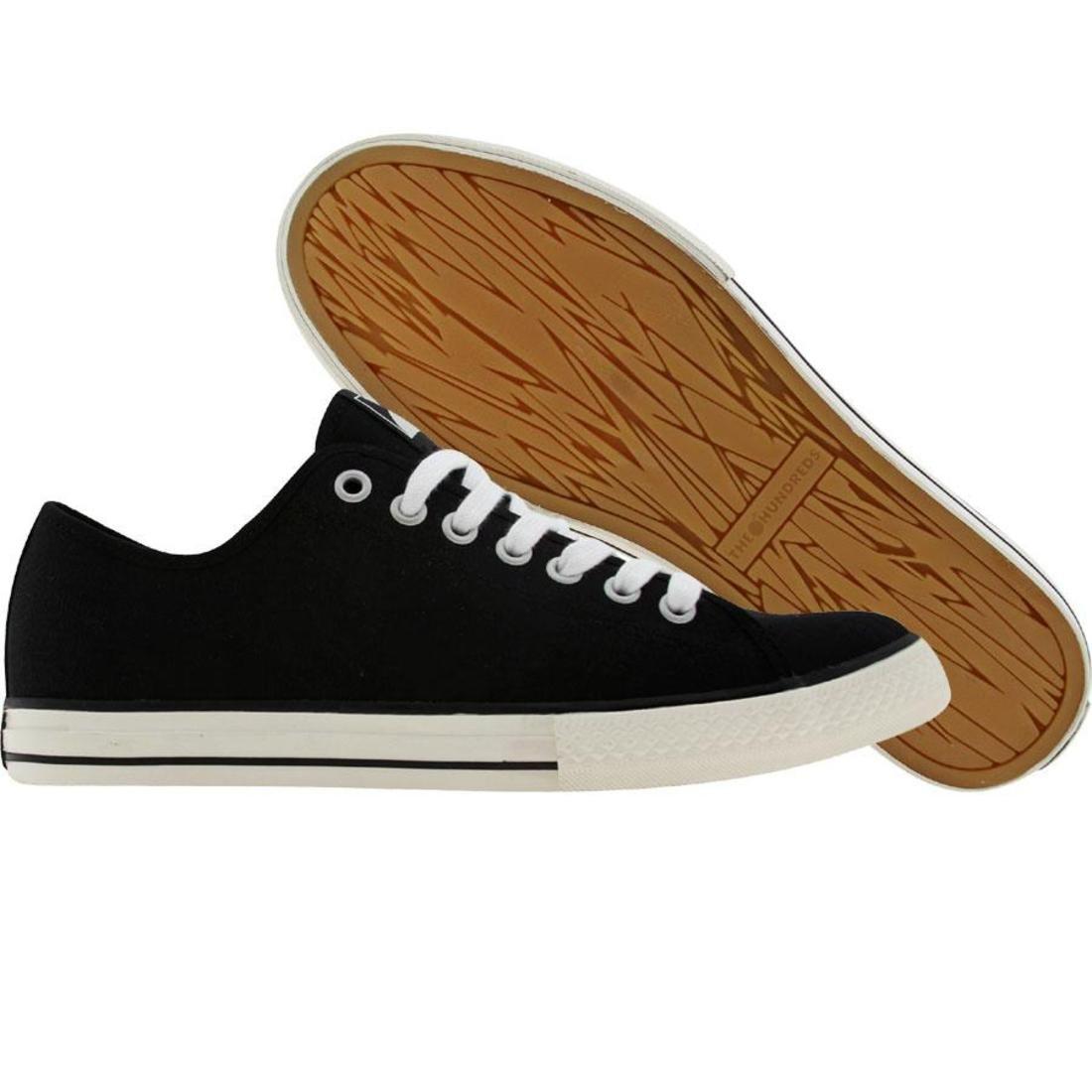 【海外限定】スニーカー メンズ靴 【 THE HUNDREDS VALENZUELA LOW BLACK 】