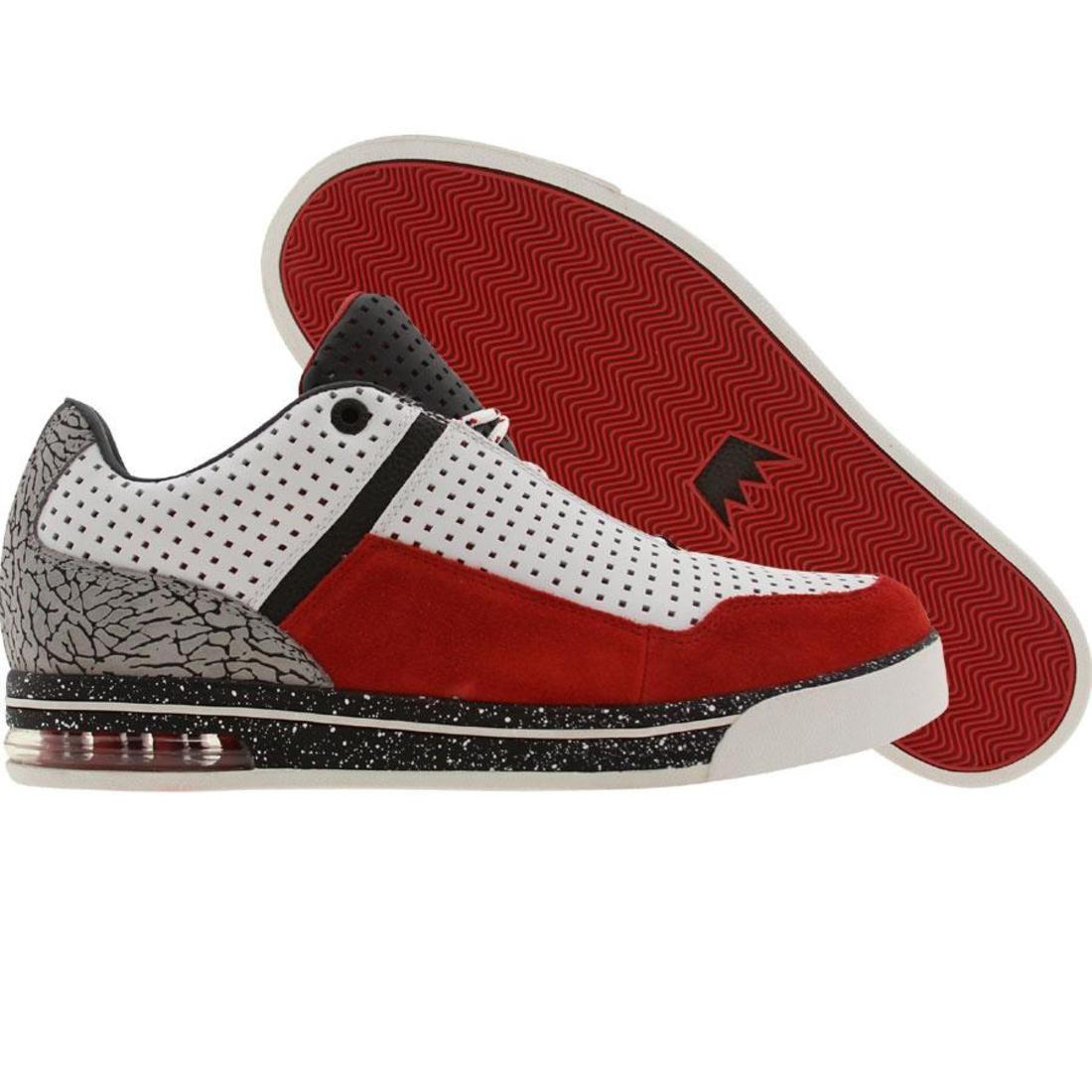 【海外限定】アンダークラウン レイアップ 赤 レッド スニーカー メンズ靴 【 RED UNDER CROWN UNDRCRWN THE LAYUP WHITE ELEPHANT 】