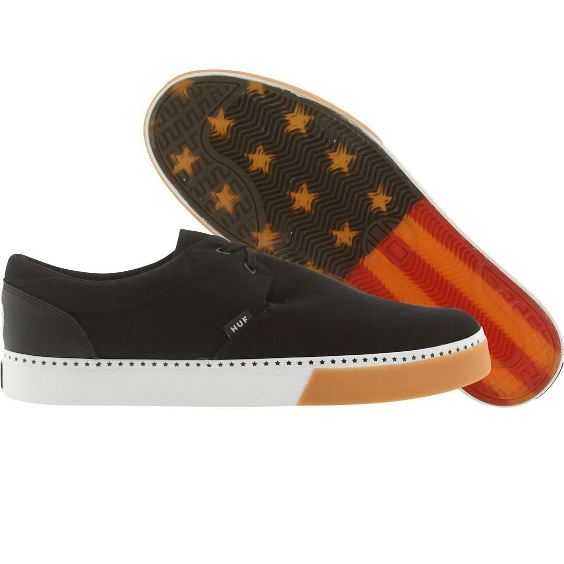 【海外限定】ハフ 靴 メンズ靴 【 HUF GENUINE STAR PACK BLACK GUM 】