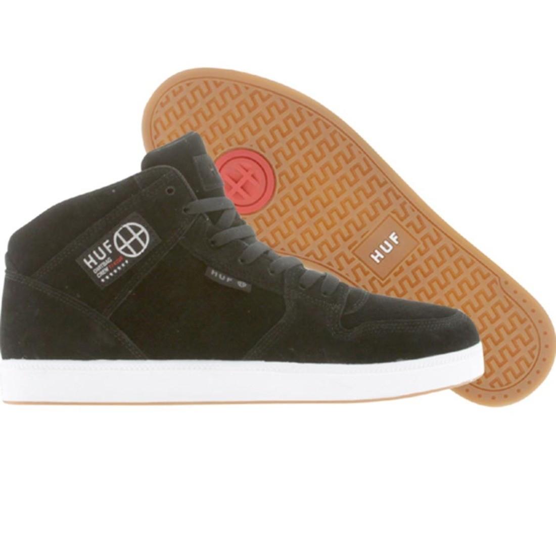【海外限定】ハフ スニーカー メンズ靴 【 HUF 1 BLACK WHITE 】