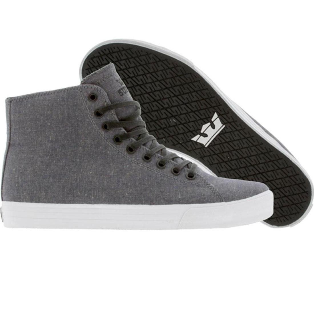 SUPRA サンダー ハイトップ スニーカー メンズ 【 Thunder Hightop (navy Chambray) 】 Navy Chambray