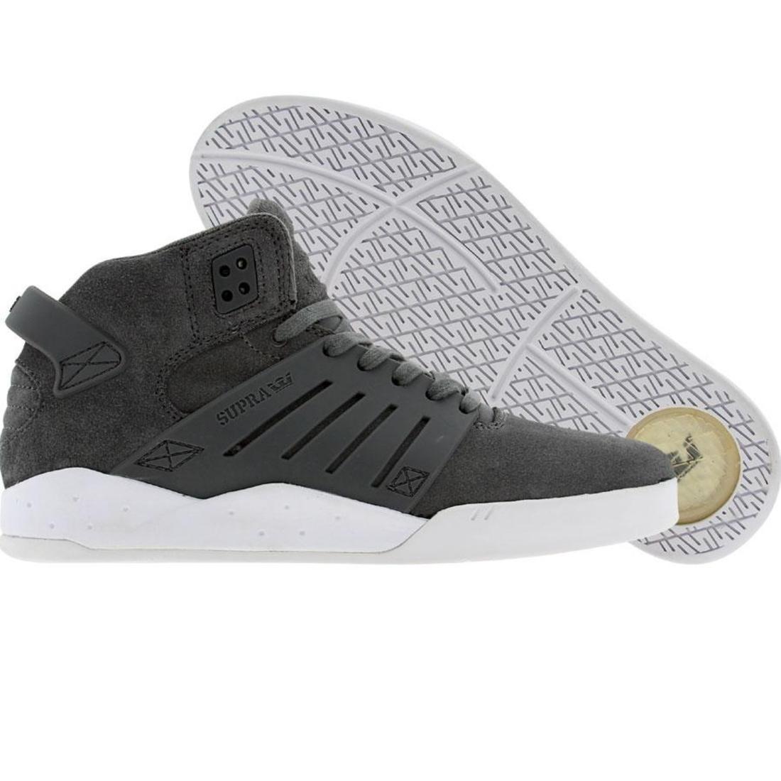 【海外限定】スープラ スカイトップ メンズ靴 靴 【 SUPRA SKYTOP III 3 GREY SUEDE 】