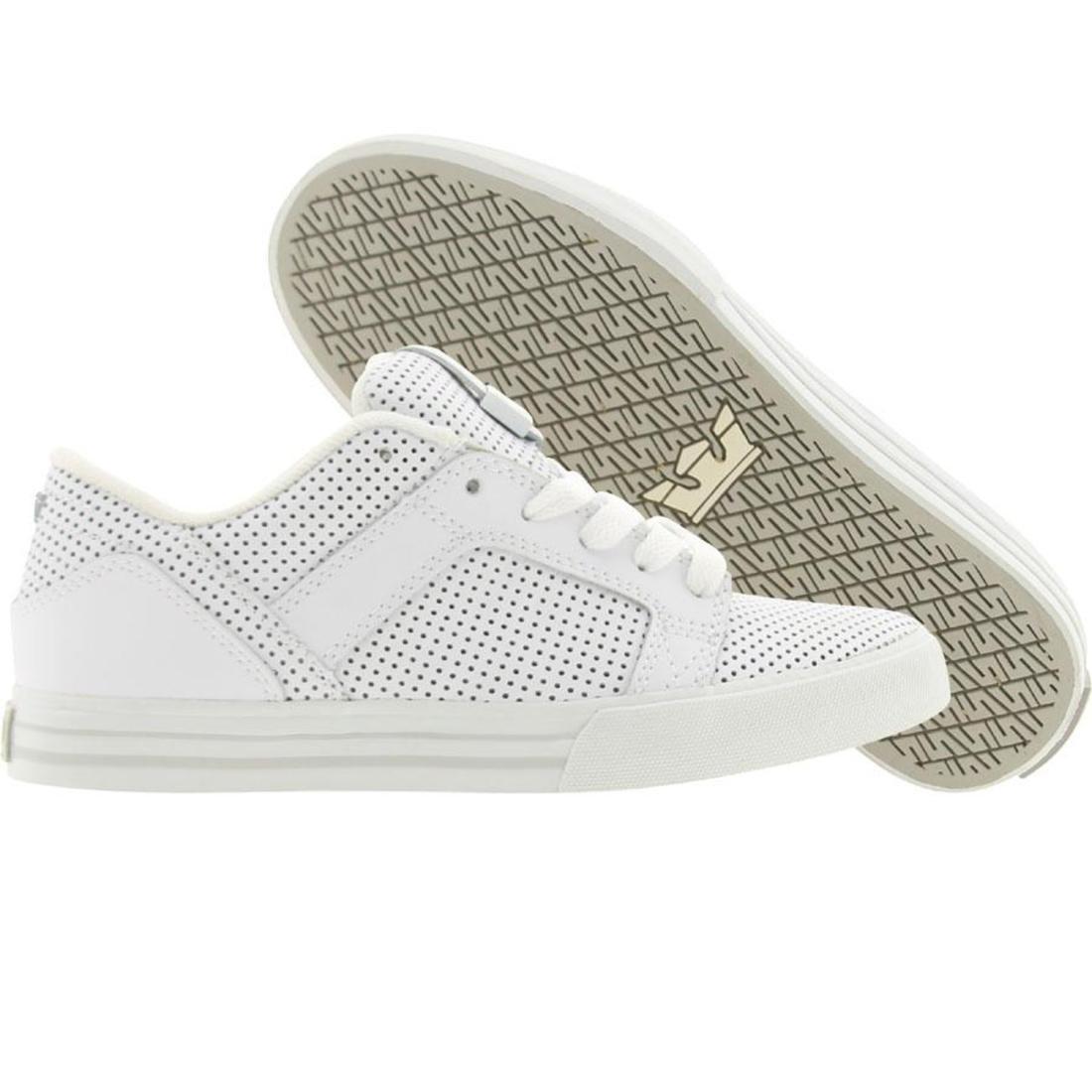 【海外限定】スープラ ムスカ スカイロー 1.5 靴 メンズ靴 【 SUPRA MUSKA SKYLOW WHITE PERF 】