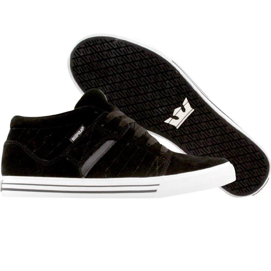 【海外限定】スープラ ディアブロ 1.5 靴 スニーカー 【 SUPRA EE DIABLO BLACK SUEDE 】