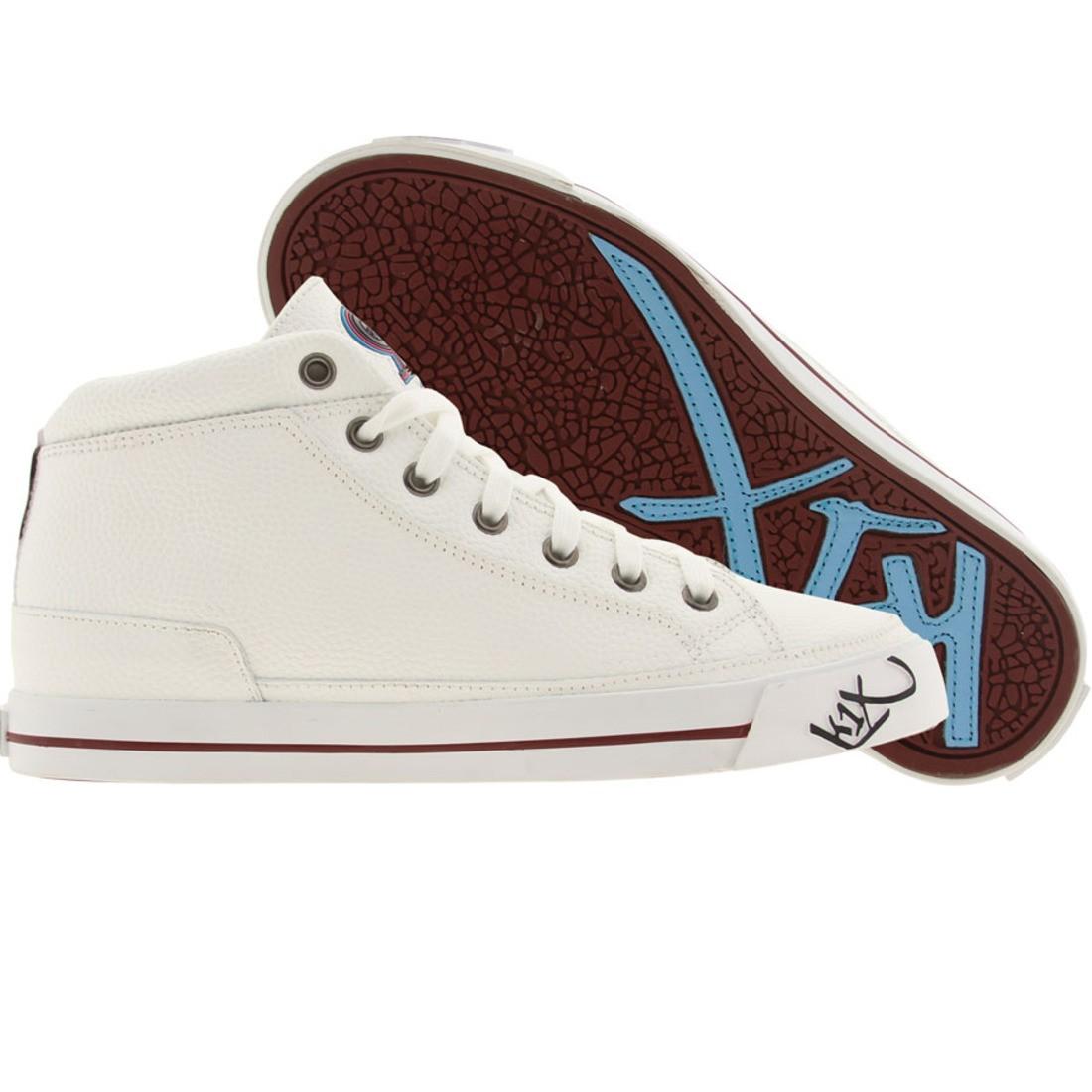 【海外限定】靴 スニーカー 【 K1X DCAC WHITE BURGUNDY 】