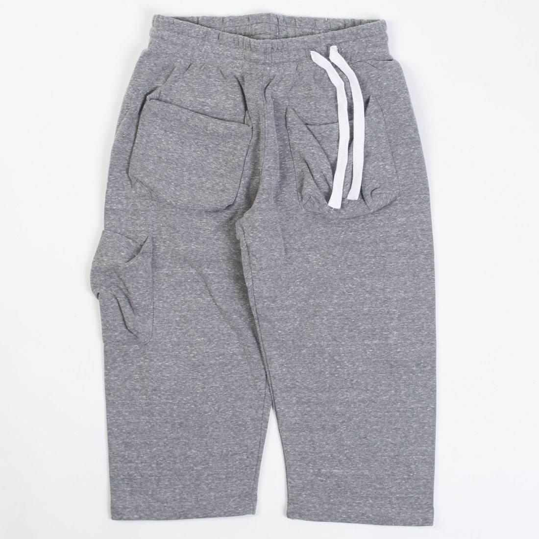 【海外限定】パンツ メンズファッション 【 CLOT MEN KUNG FU PANTS GRAY HEATHER 】