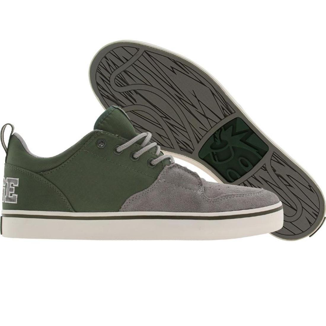 【海外限定】GRAY灰色 グレイ 靴 スニーカー 【 GREY THE HUNDREDS RILEY LOW GREEN RELOADED 】