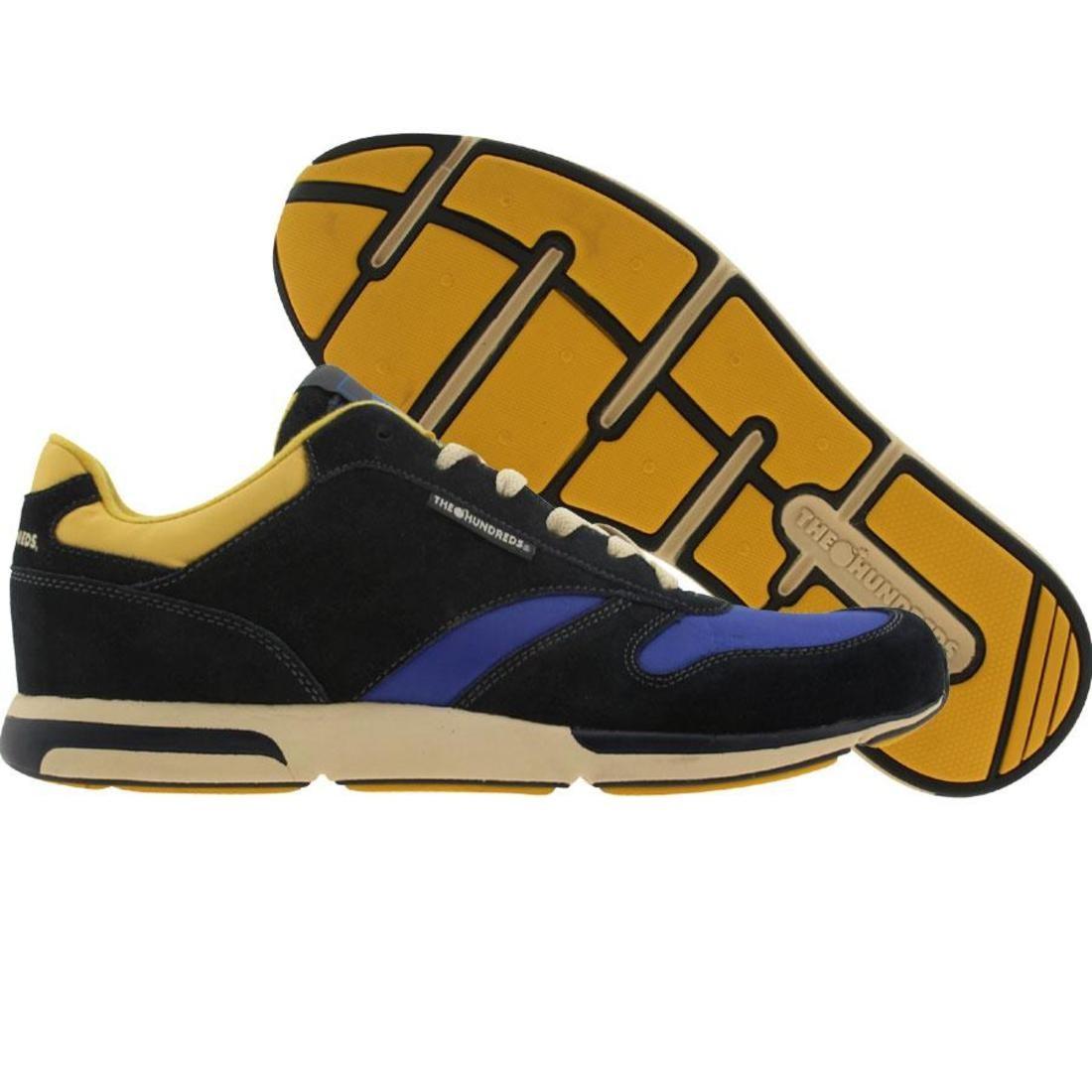 【海外限定】靴 メンズ靴 【 THE HUNDREDS SCULLY NAVY YELLOW 】