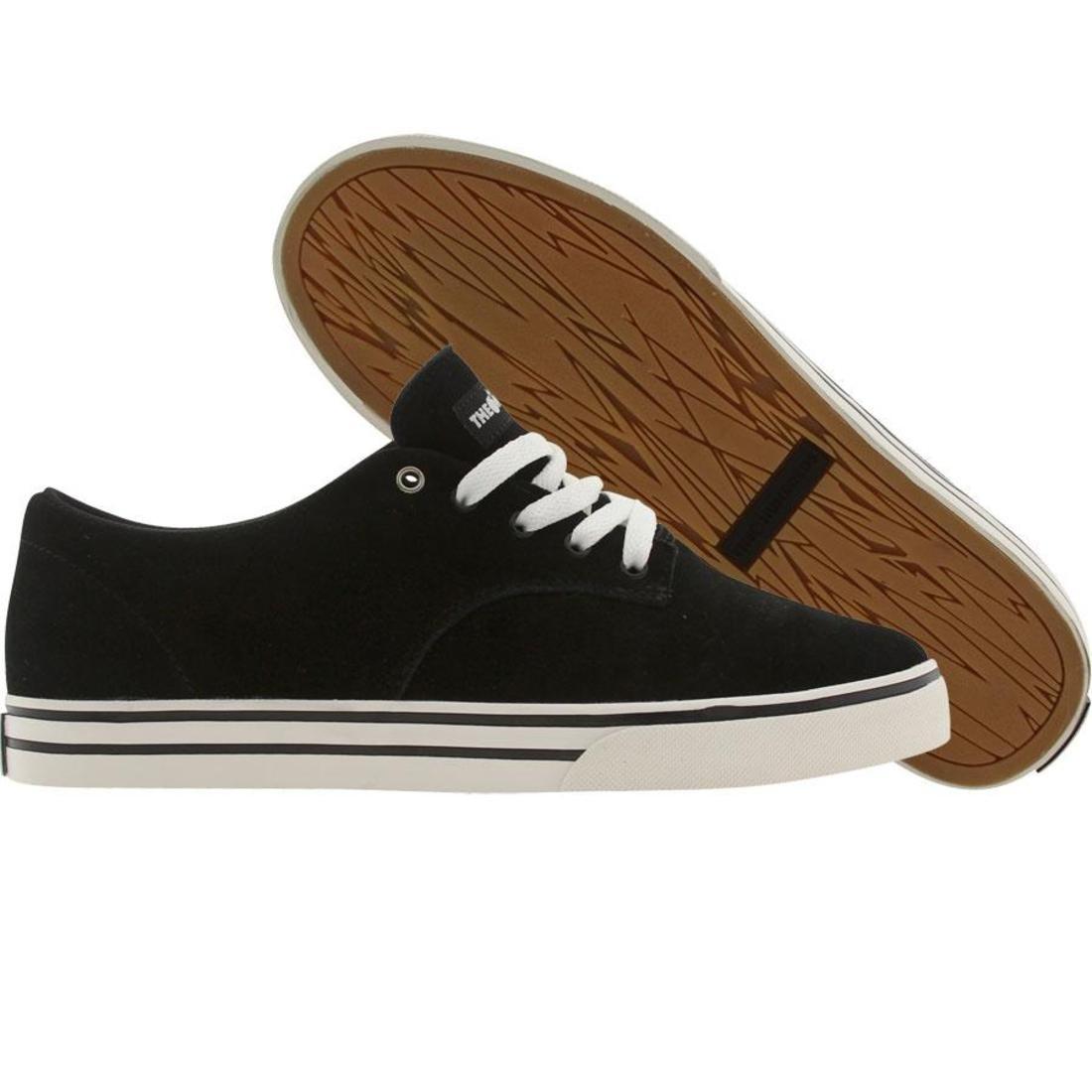 【海外限定】ジョンソン スエード スウェード メンズ靴 スニーカー 【 THE HUNDREDS JOHNSON LOW SUEDE BLACK 】