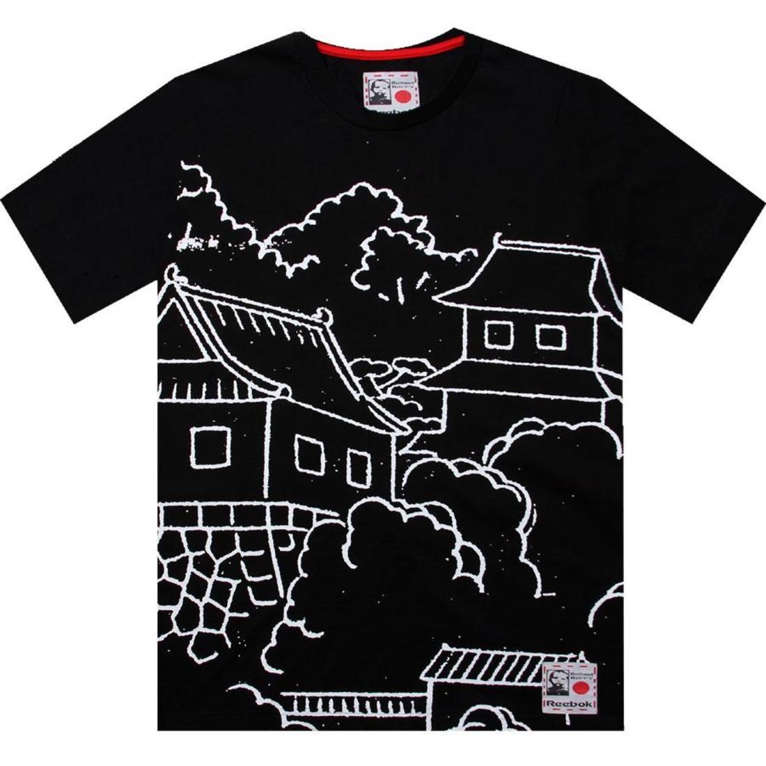 【海外限定】リーボック グラフィック Tシャツ メンズファッション 【 REEBOK X ROLLAND BERRY TOYKO YEN GRAPHIC TEE BLACK 】【送料無料】