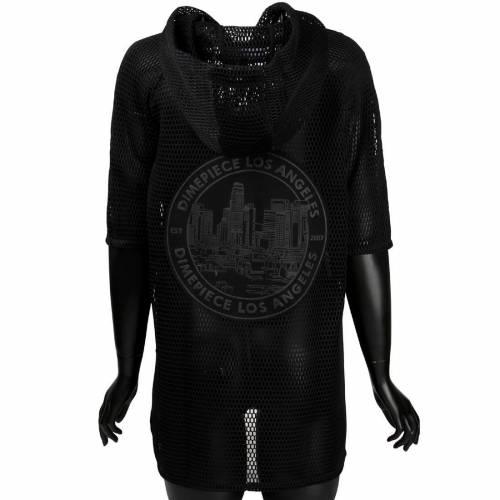 <title>ファッションブランド お買い得品 カジュアル ファッション ジャケット パーカー ベスト ポンチョ 黒色 ブラック DIMEPIECE WOMEN SEAL MESH PONCHO JACKET BLACK</title>