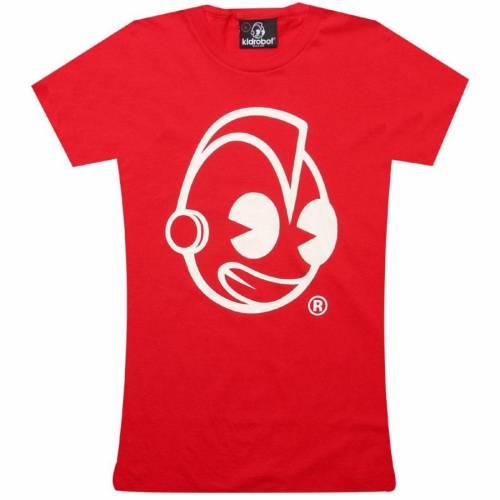 ファッションブランド 超激安特価 カジュアル ストア ファッション トップス 半袖 キッドロボット レディース クラシック Tシャツ 赤 HEAD KIDROBOT WOMENS カットソー レディースファッション TEE CLASSIC レッド RED