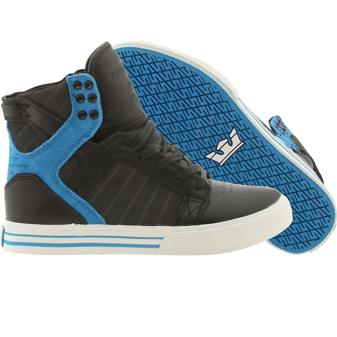 【海外限定】スープラ スカイトップ GRAY灰色 グレイ 靴 スニーカー 【 SUPRA GREY SKYTOP BLACK BLUE 】