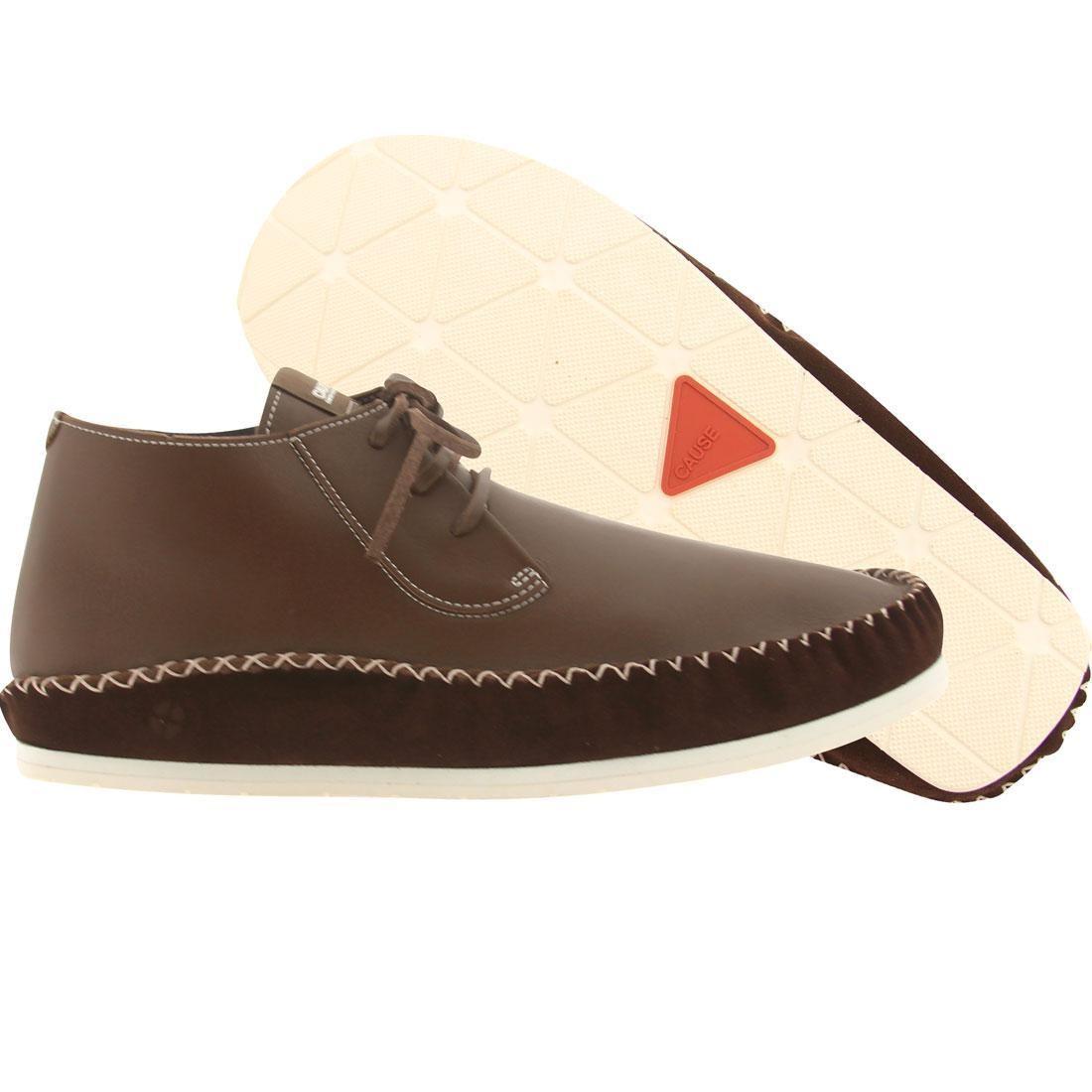 【海外限定】ウェーブ ウェイブ モカシン メンズ靴 靴 【 WAVE CAUSE MOCCASIN BROWN 】
