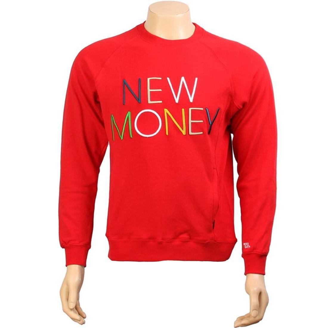 【海外限定】トップス Tシャツ【 ROCK SMITH SWEATER NEW ROCK MONEY Tシャツ SWEATER RED】, 子供靴&インポートウェアFabrica:b10ab38e --- sunward.msk.ru