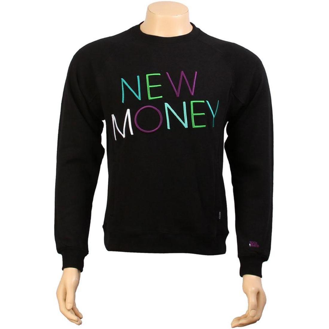 【 ROCK SMITH NEW MONEY SWEATER BLACK 】 メンズファッション トップス Tシャツ カットソー 送料無料