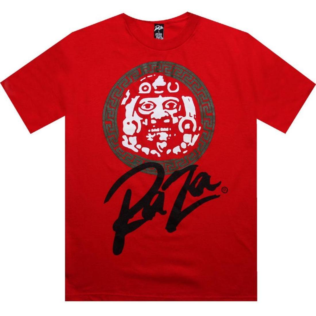【海外限定】Tシャツ トップス 【 RAZA MASK CREST TEE RED 】