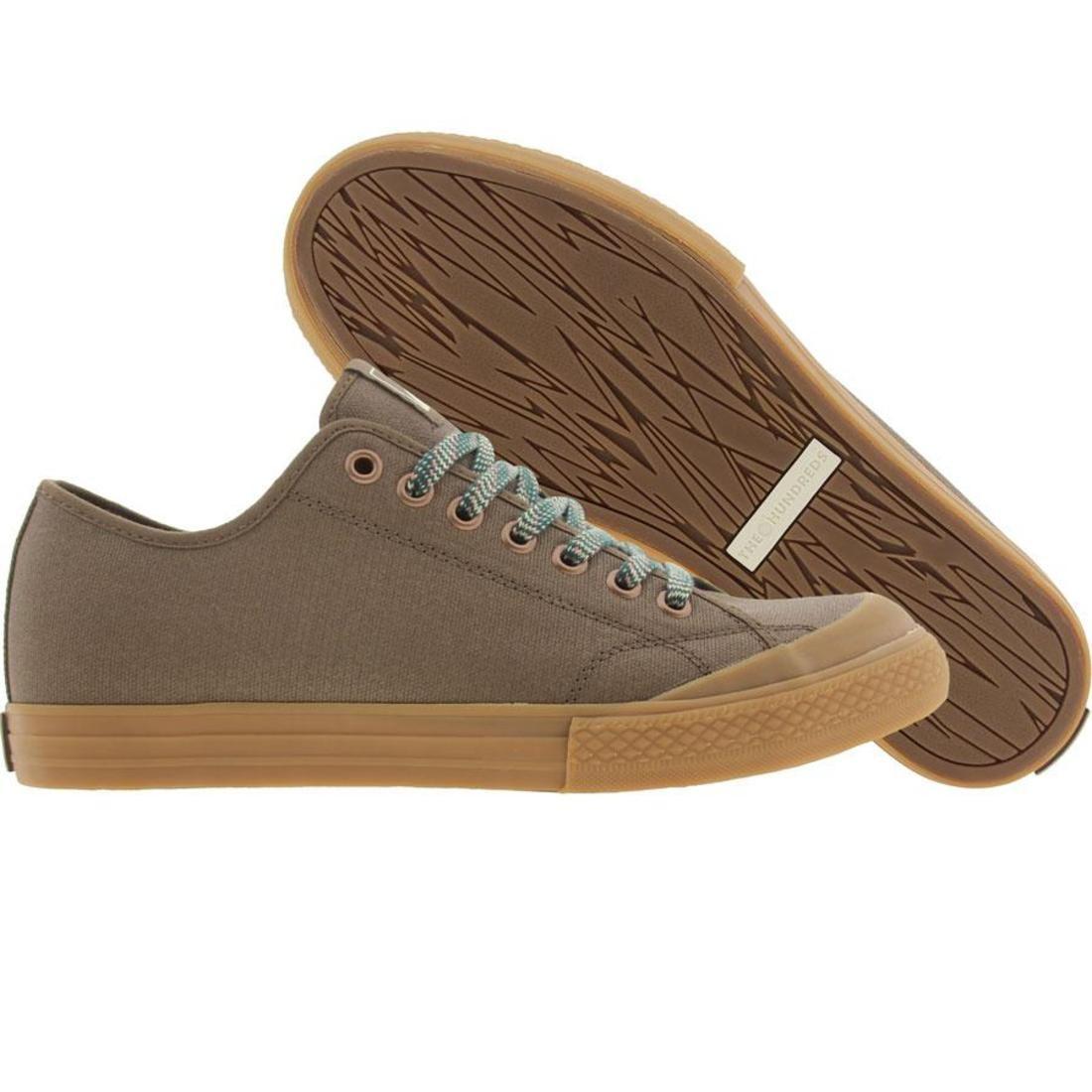 【海外限定】スニーカー 靴 【 THE HUNDREDS VALENZUELA LOW UTILITY PACK DARK BROWN 】