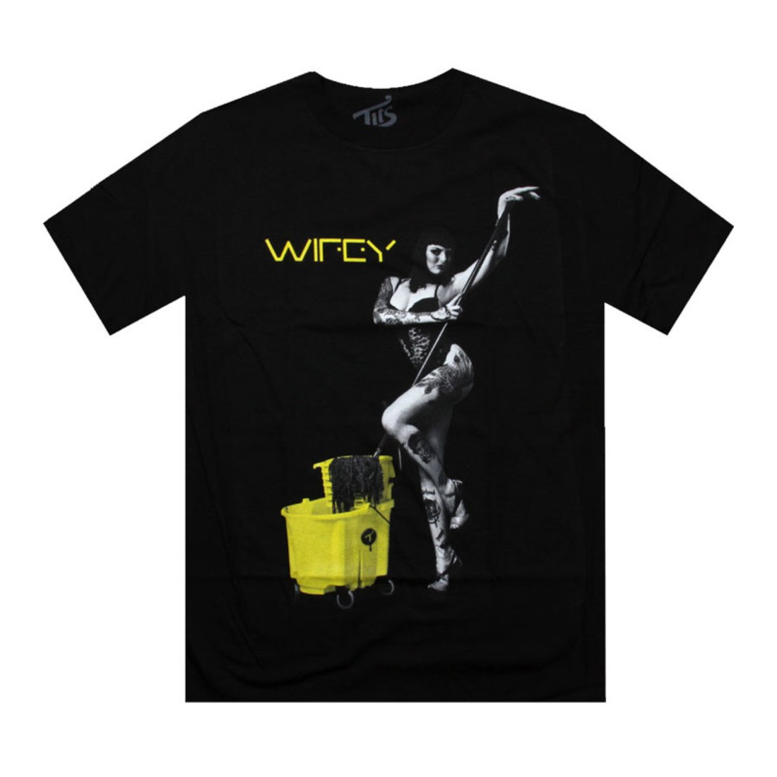 Tシャツ 黒 ブラック 【 BLACK TITS MELROSE WIFEY TEE 】 メンズファッション トップス Tシャツ カットソー