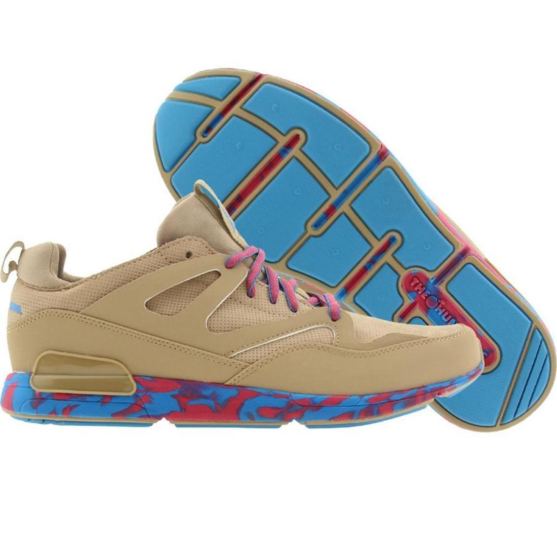 【海外限定】スニーカー メンズ靴 【 THE HUNDREDS MEN HOYA KHAKI NUBUCK 】
