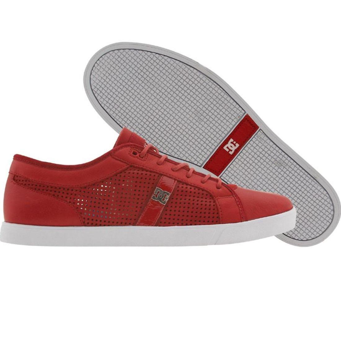 【海外限定】ディーシー コレクション ドレス 靴 スニーカー 【 DC LIFE COLLECTION DRESS SNEAKER RED 】