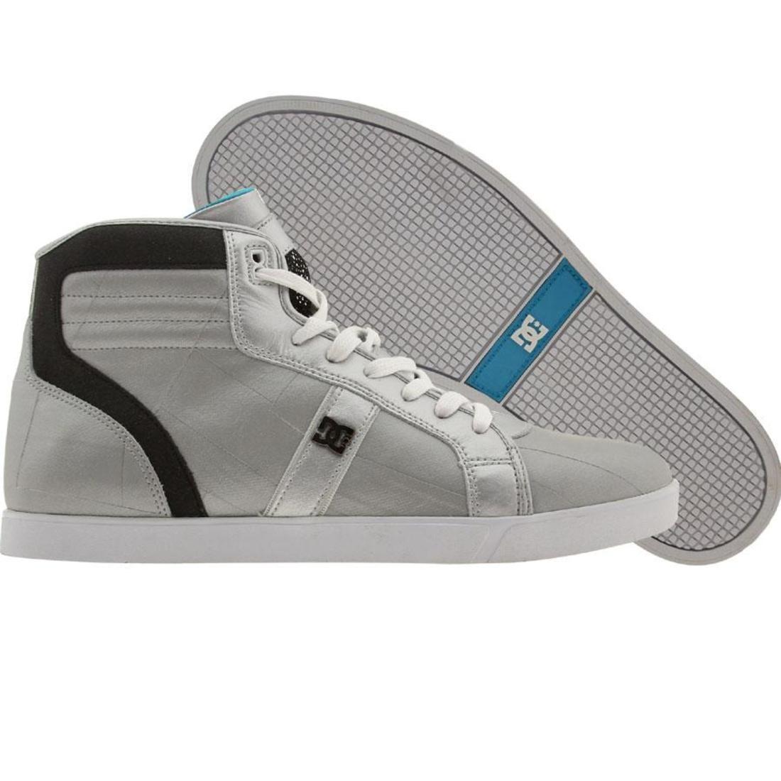【海外限定】ディーシー コレクション ザンダー 銀色 シルバー 靴 メンズ靴 【 DC SILVER LIFE COLLECTION XANDER METALLIC BLACK 】