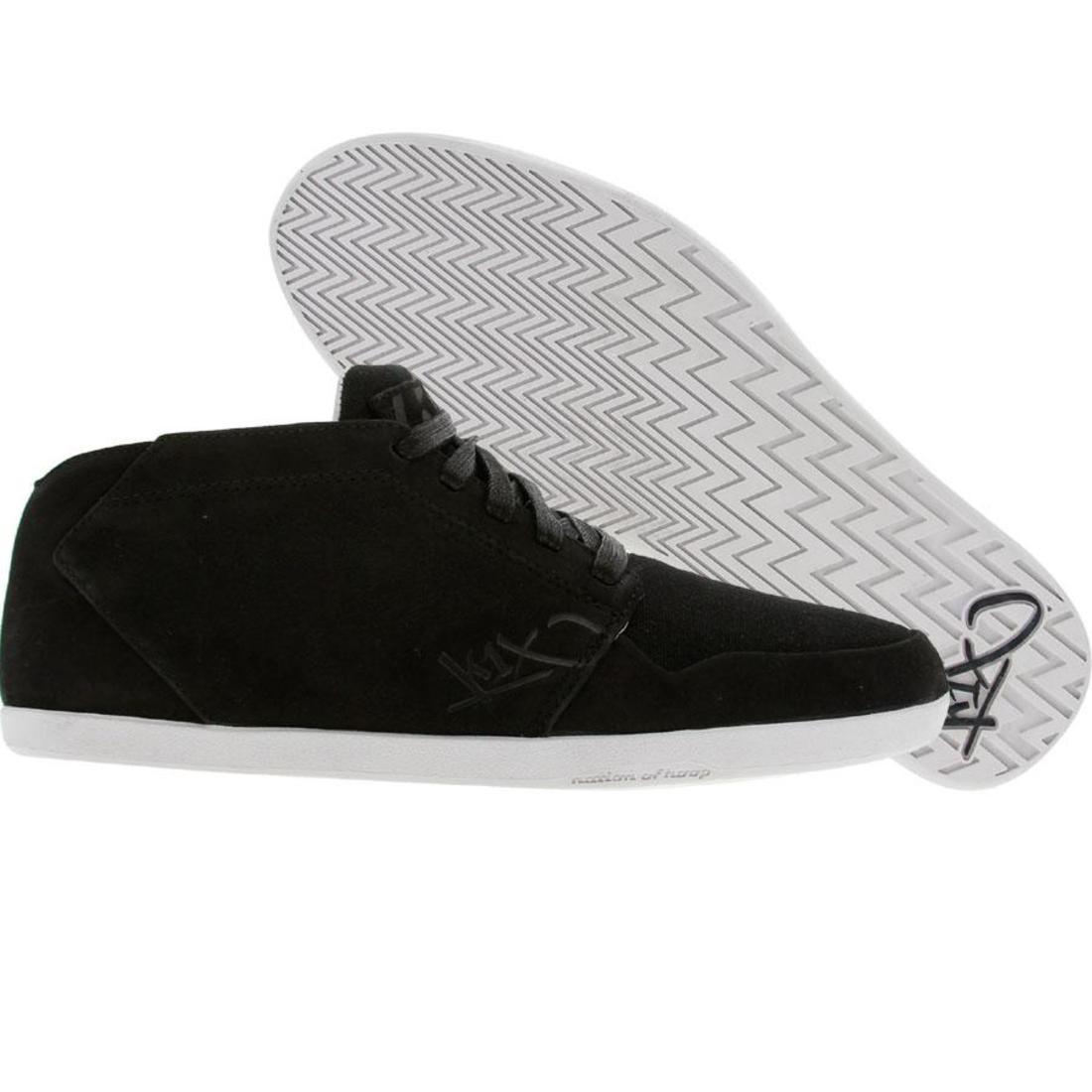 【海外限定】レザー 靴 スニーカー 【 K1X IP LEATHER BLACK WHITE 】
