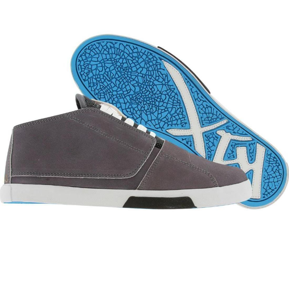 【海外限定】白 ホワイト 靴 メンズ靴 【 WHITE K1X Y2G LE GREY CYAN 】