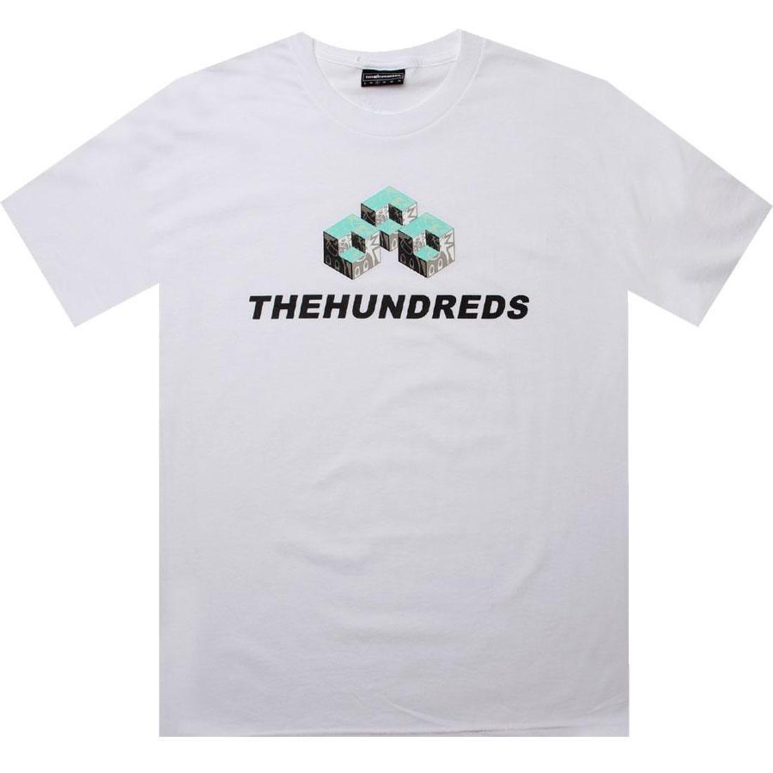 Tシャツ 白 ホワイト 【 WHITE THE HUNDREDS OFFICE TEE 】 メンズファッション トップス Tシャツ カットソー