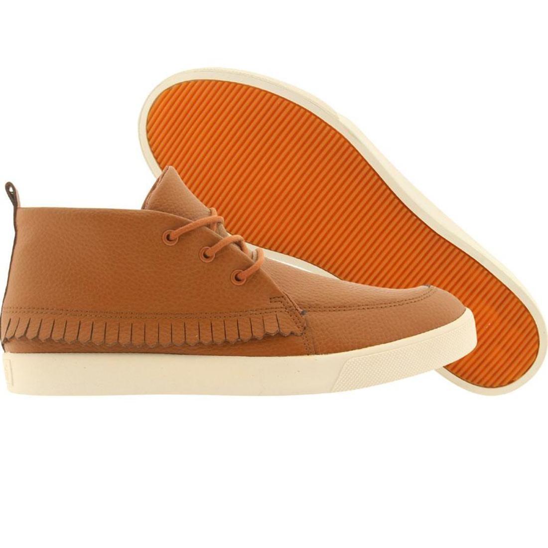 【海外限定】レザー 靴 メンズ靴 【 GENERIC SURPLUS MOHAWK LEATHER COGNAC 】