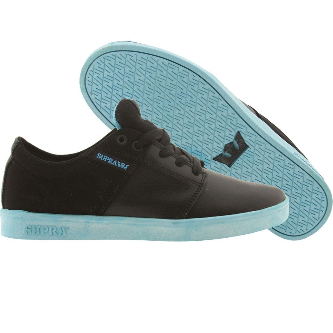 【海外限定】スープラ スタックス アクション メンズ靴 スニーカー 【 SUPRA TK LOW STACKS BLACK ACTION CANVAS 】