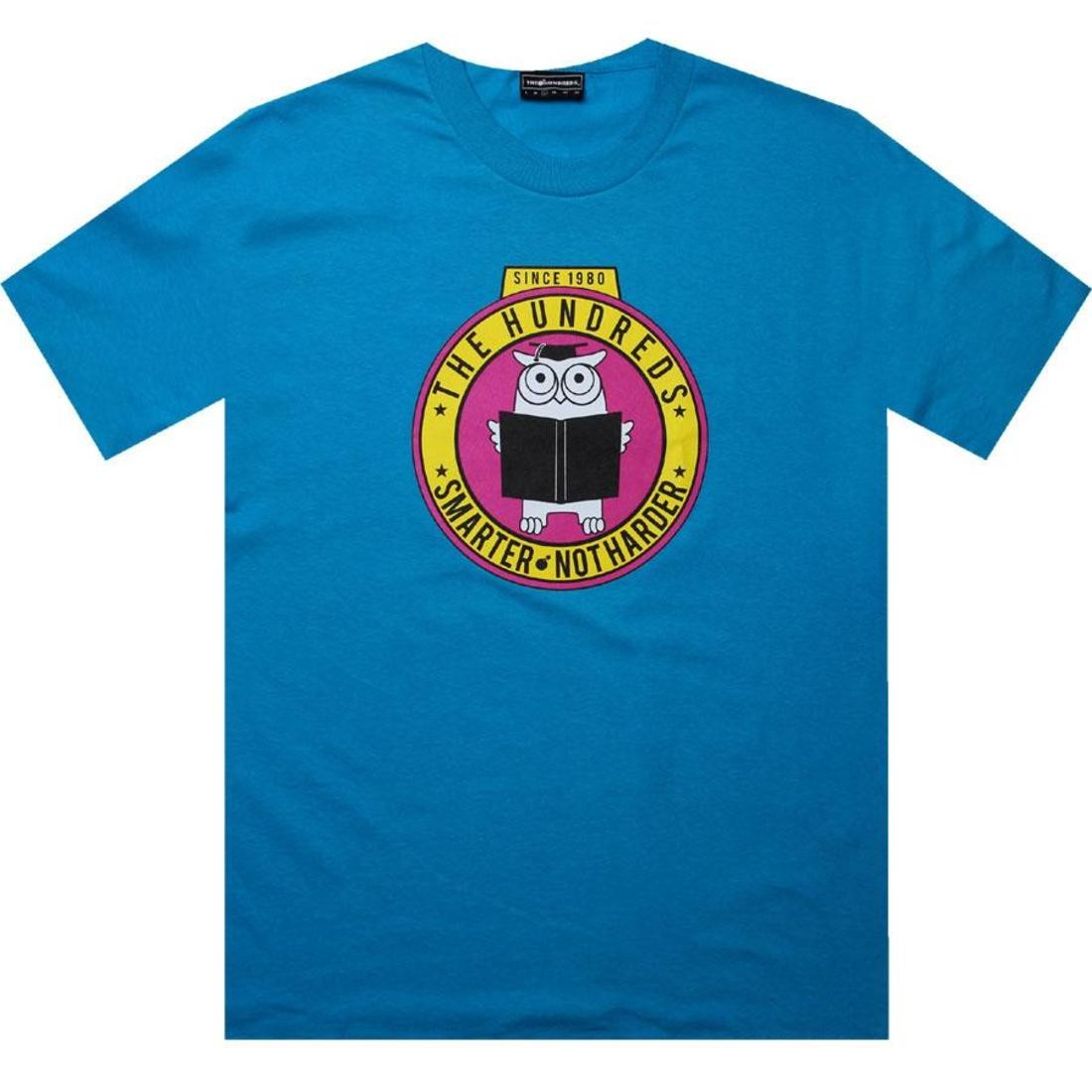 Tシャツ 【 THE HUNDREDS SMARTER TEE TURQUOISE 】 メンズファッション トップス Tシャツ カットソー