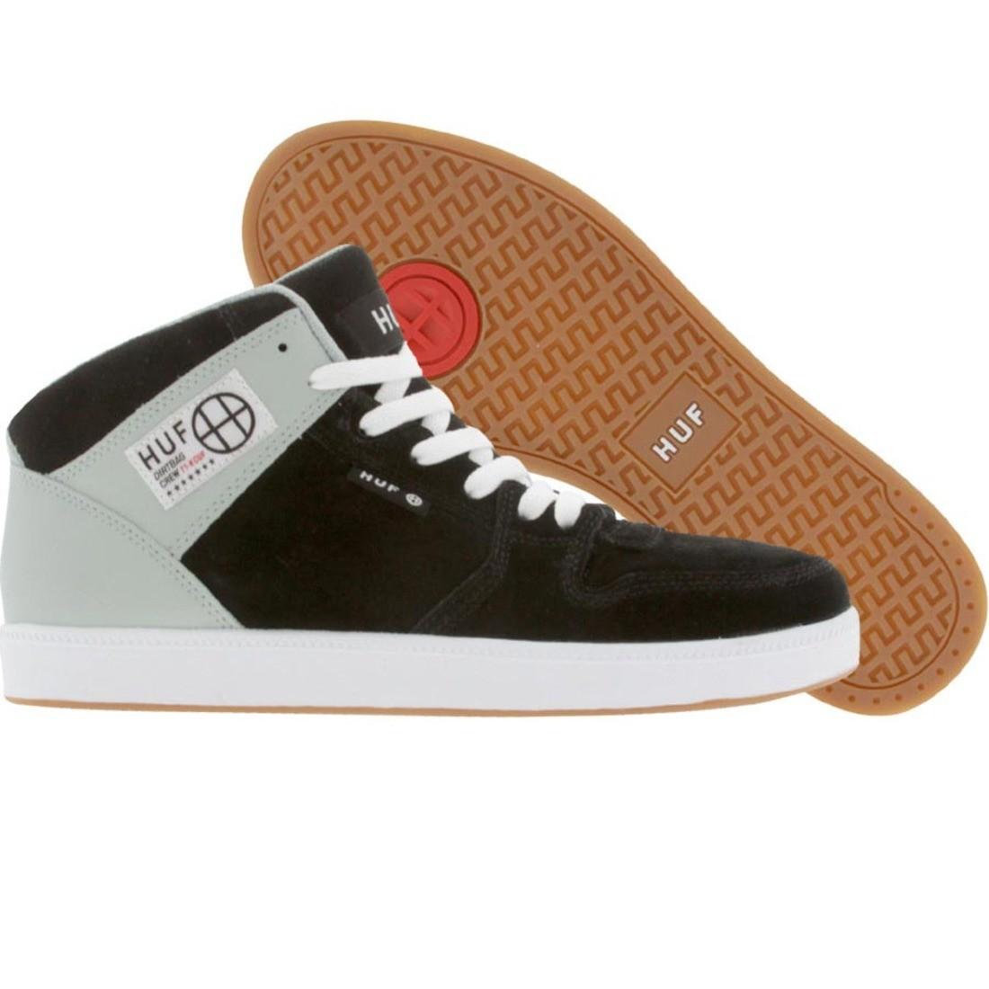【海外限定】ハフ 靴 メンズ靴 【 HUF 1 BLACK GREY 】