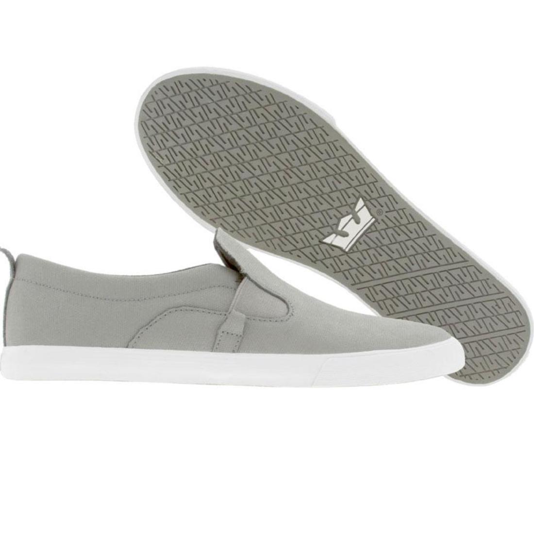 【海外限定】スープラ スニーカー 靴 【 SUPRA BELAY NS GREY WAXED CANVAS 】