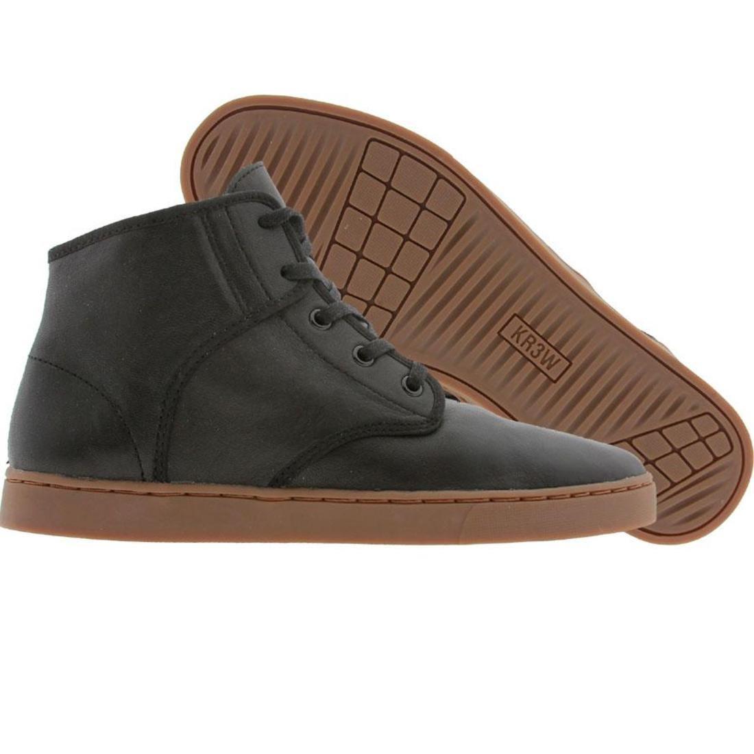 【海外限定】ミッド キッズ 靴 【 KR3W GRANT MID BLACK KIDSKIN 】【送料無料】