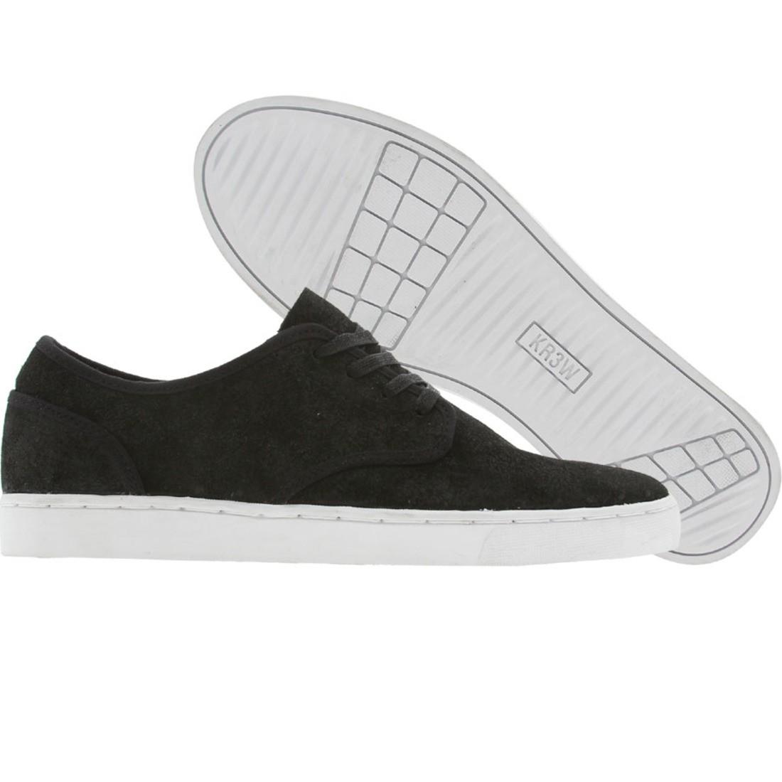 【海外限定】スニーカー メンズ靴 【 KR3W GRANT LOW BLACK SUEDE 】