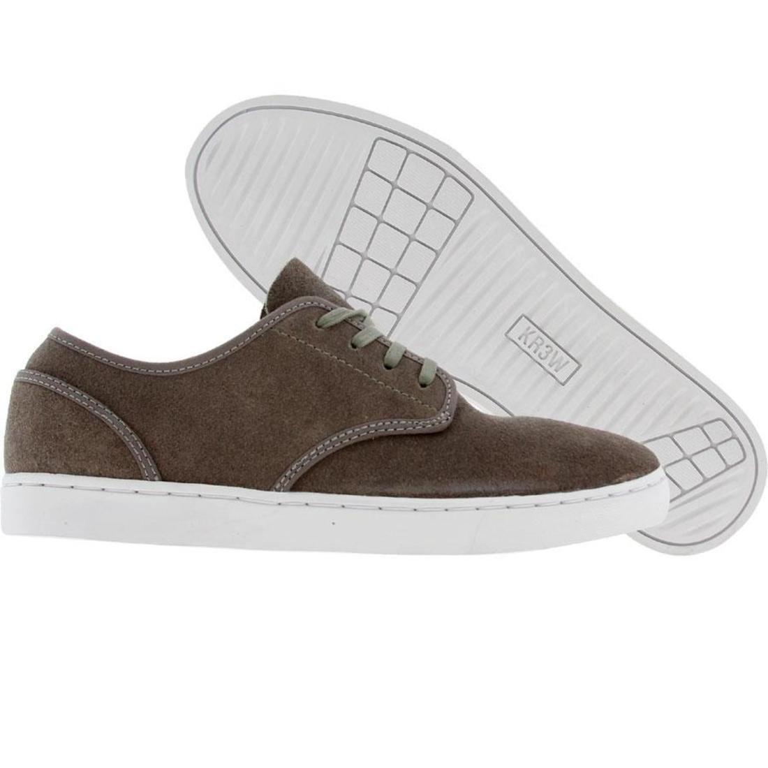 【海外限定】メンズ靴 靴 【 KR3W GRANT LOW GREY OILED SUEDE 】