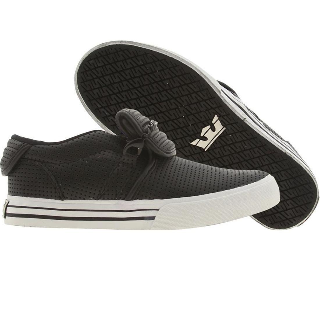 【海外限定】スープラ キューバン 靴 メンズ靴 【 SUPRA CUBAN BLACK PERF 】