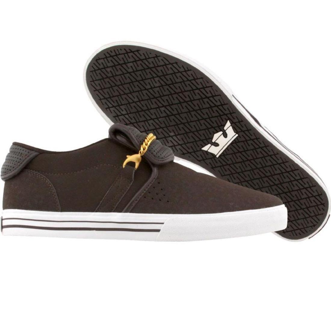 【海外限定】スープラ キューバン スニーカー メンズ靴 【 SUPRA CUBAN BROWN 】