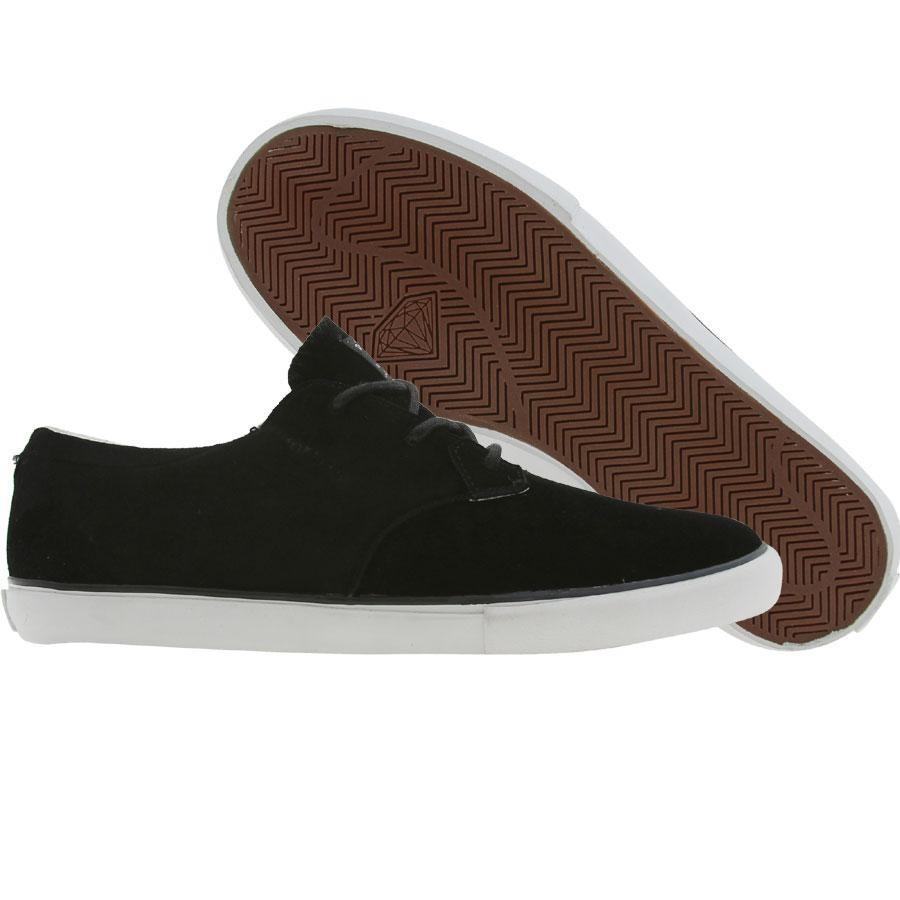 【海外限定】ダイヤモンド サプライ スエード スウェード メンズ靴 靴 【 SUPPLY DIAMOND CO LOCUT SUEDE BLACK 】