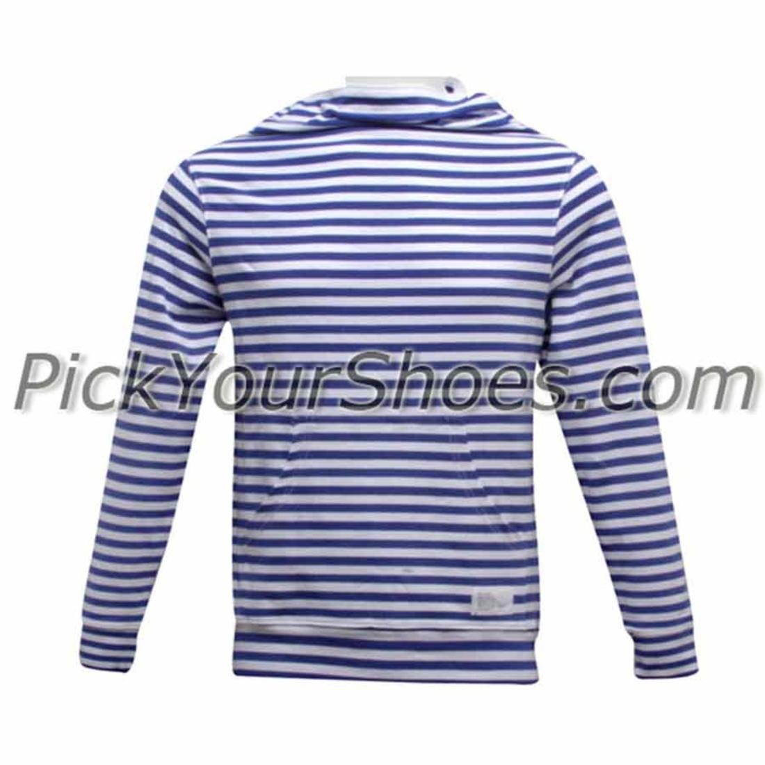 【海外限定】メンズファッション パーカー 【 DUMB NINJA HOODED PULLOVER WHITE ROYAL BLUE 】