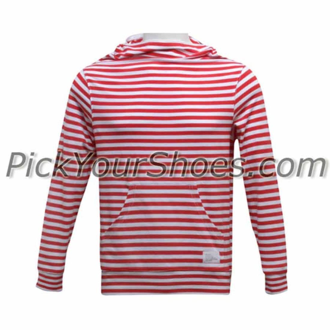 【海外限定】パーカー メンズファッション 【 DUMB NINJA HOODED PULLOVER WHITE RED 】