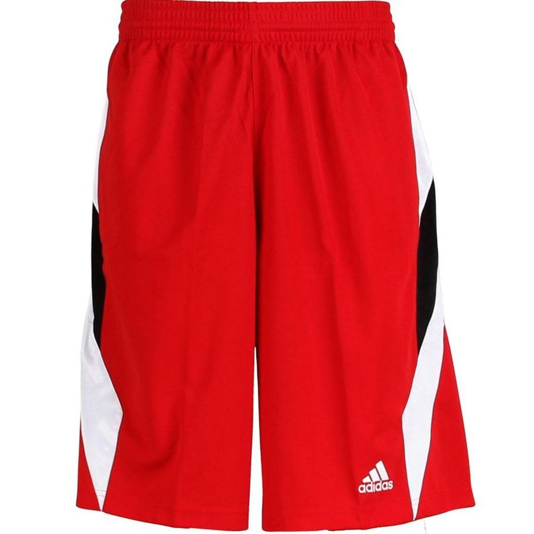 アディダス ADIDAS ショーツ ハーフパンツ 赤 レッド メンズファッション ズボン パンツ メンズ 【 Downtown Short5 Shorts (university Red / White) 】 University Red / White