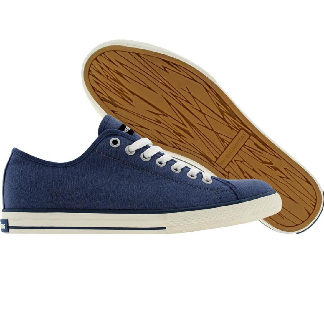 【海外限定】靴 メンズ靴 【 THE HUNDREDS VALENZUELA LOW CANVAS NAVY 】