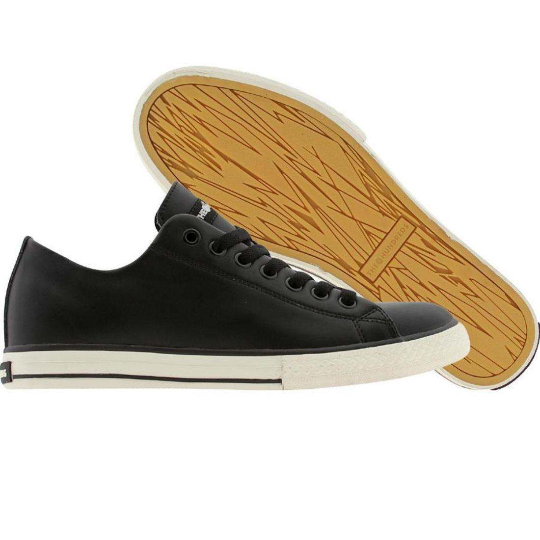 【海外限定】スニーカー 靴 【 THE HUNDREDS VALENZUELA LOW TOP BLACK 】