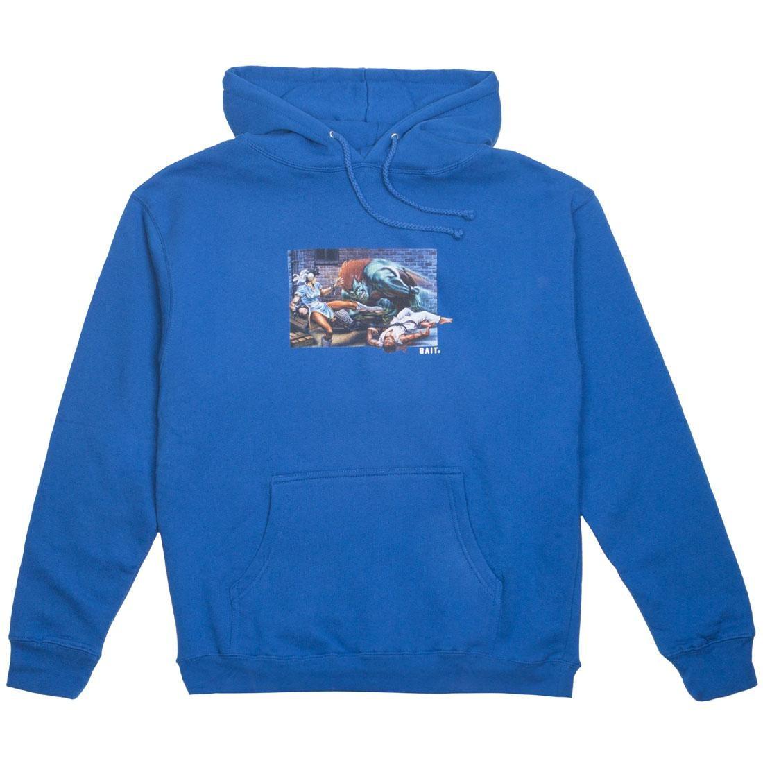 【海外限定】ストリート ファイター ウォリアー フーディー パーカー メンズファッション トップス 【 STREET BAIT X FIGHTER MEN THE WORLD WARRIOR HOODY BLUE ROYAL 】